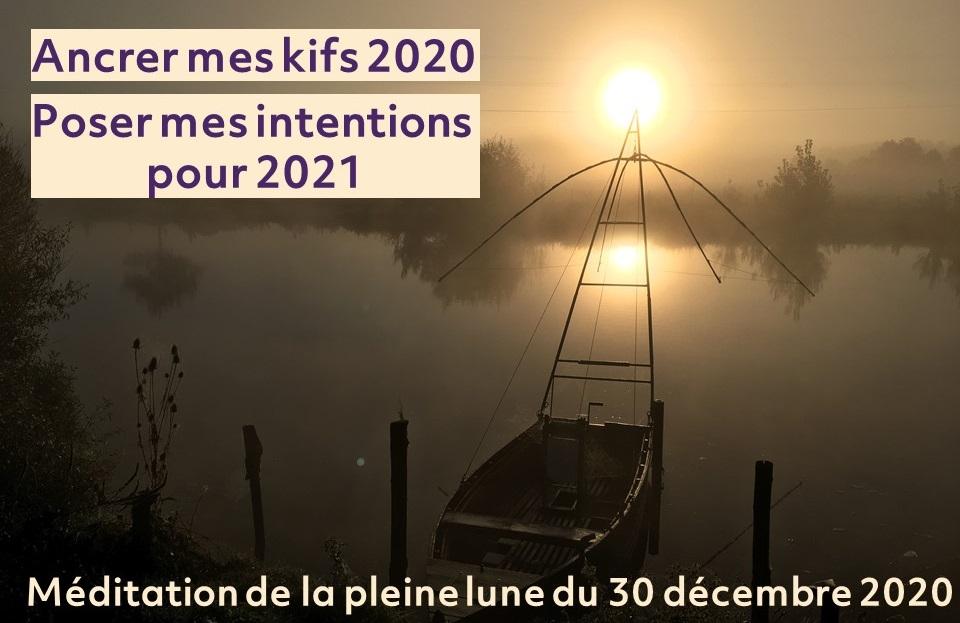 Méditation Pleine lune 30 décembre 2020